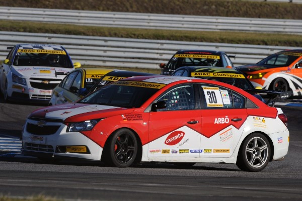 Der Cruze von Pfister Racing in Action