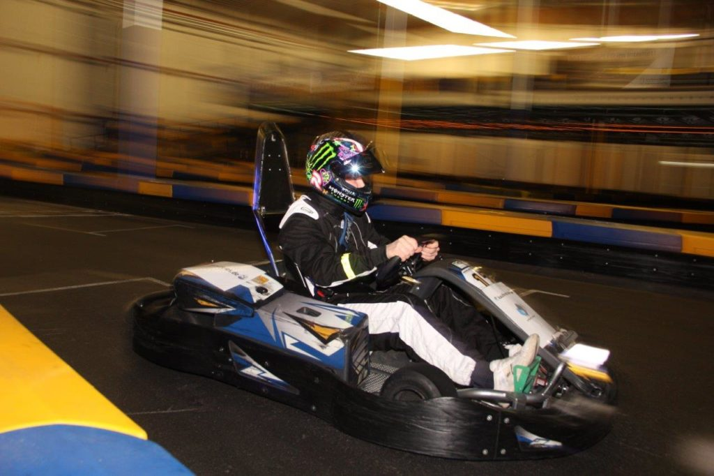 ADAC Kart driver´s direction